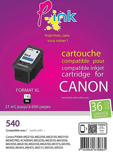 Pink EINKPACA540 cartucho de tinta Negro 21 ml - Cartucho de ...