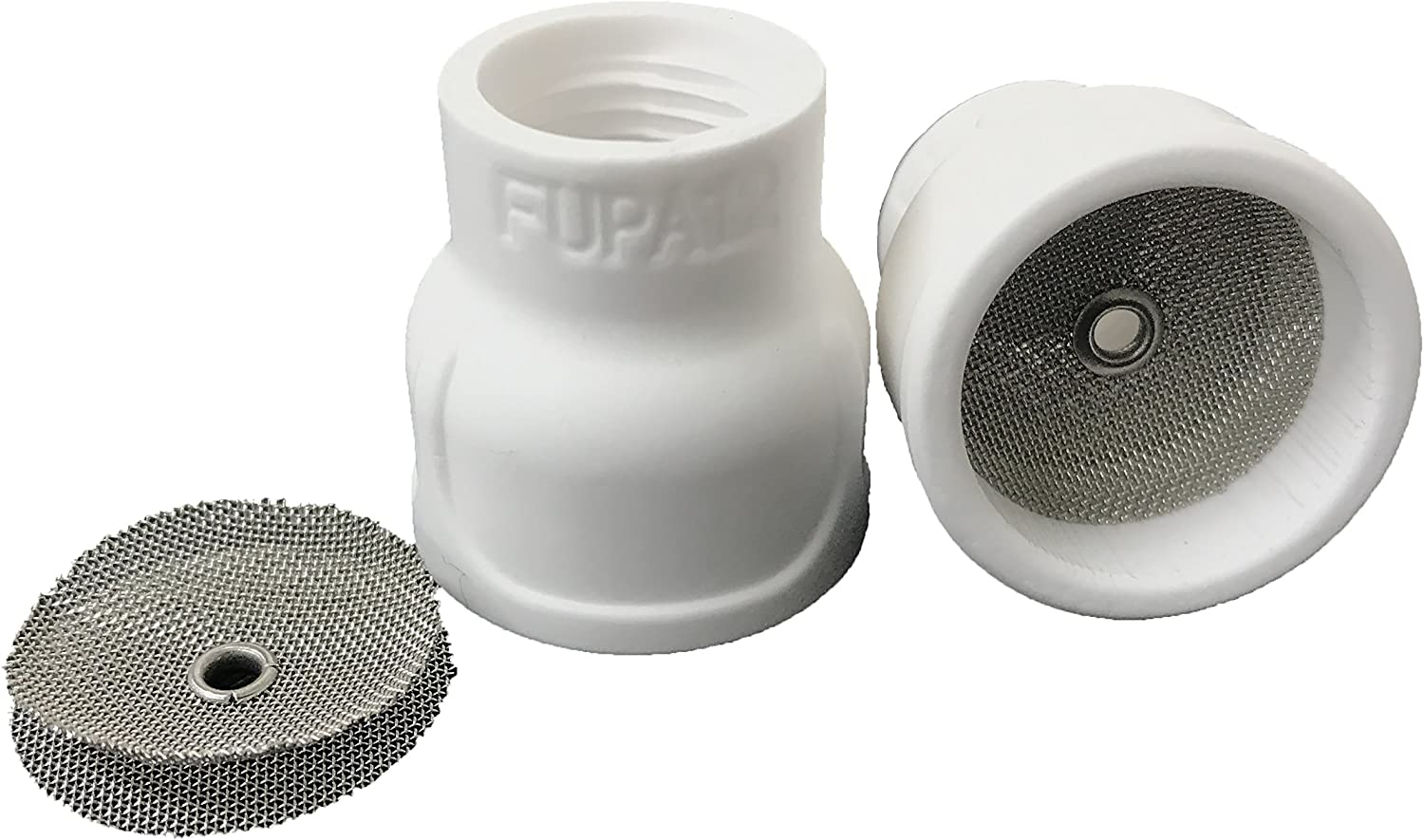 Twin Pack Furick TIG Welding Equipment Cup FUPA 12 Ceramic