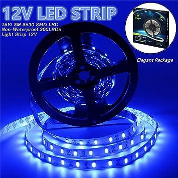 Amazon led strip lights iekov 5630 smd 300leds non led strip lights iekovtrade 5630 smd 300leds non waterproof flexible xmas decorative lighting aloadofball Image collections