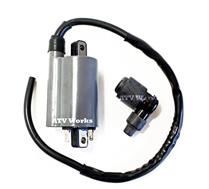 JOHN DEERE MOWER ENGINE (FD501, FD501V, FD590V, FD611V, FD620D, FD661D,  FD440V) REPLACEMENT IGNITION COIL w/OEM PLUG CAP # 21130-2060