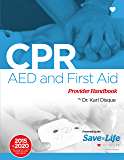 CPR, AED & First Aid Certification Course Kit - Including Practice Tests - Detailed instructions of One- Rescuer CPR…