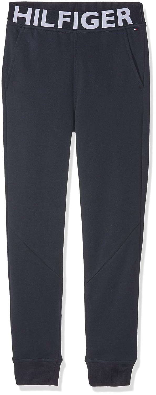 Tommy Hilfiger Boy's AME Hilfiger Sweatpant Trouser Blue (Navy Blazer 431) KB0KB03151