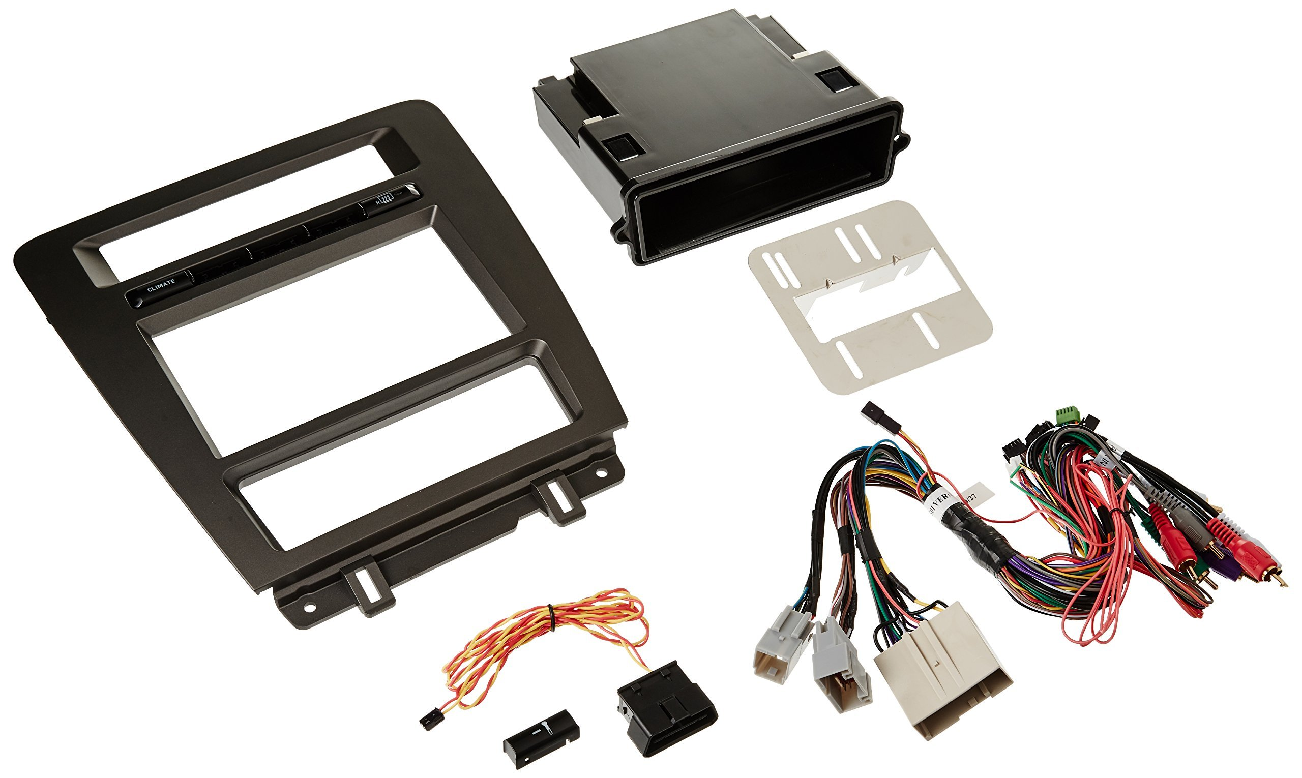 Maestro KIT-MUS1 Dash Kit and T-Harness for 2010-2014 Ford Mustangs Without Navigation by Maestro