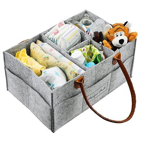 Amazon.com: Bolsa de Pañales Organizador Portátil CADDY ...