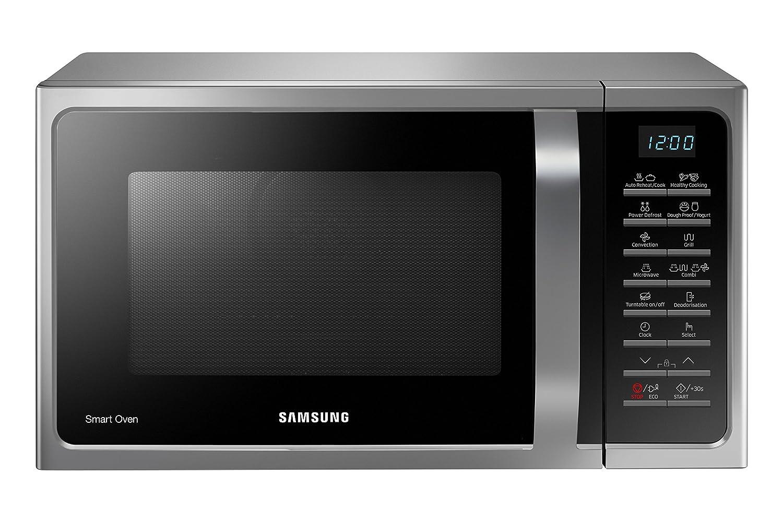 Samsung MC28H5015CS Forno a Microonde, 900 W, Grill 1500 W, 28 l ...