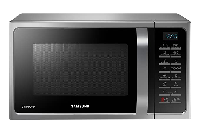 Samsung MC28H5015AS - Microondas (Encimera, combinado, 28 L, 900 W, Botones) color negro: Amazon.es: Hogar