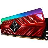 XPG Spectrix D41 RGB DDR4 3200MHz 16GB (2x8GB) 288-Pin CL16-20-20 PC4-25600 Desktop U-DIMM Memory Retail Kit Red…