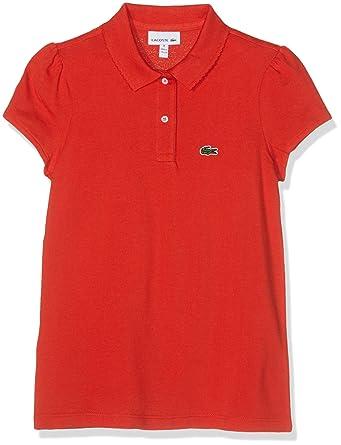 51d94e3ced Lacoste Polo Fille: Amazon.fr: Vêtements et accessoires