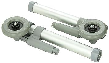 DMI 510-1002-0343 - Ruedas para andador con kit de tapas ...