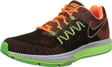 Nike Air Zoom Vomero 10 - Zapatillas para hombre, Negro / Naranja / Verde, 47: Amazon.es: Zapatos y complementos