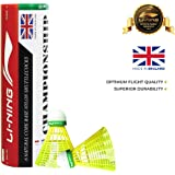 Li-Ning Championship Nylon Shuttle, Pack of 6