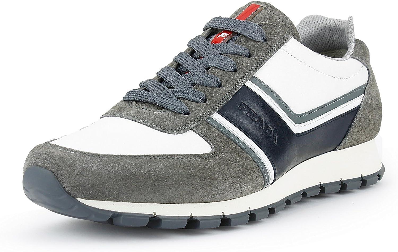 grey prada trainers