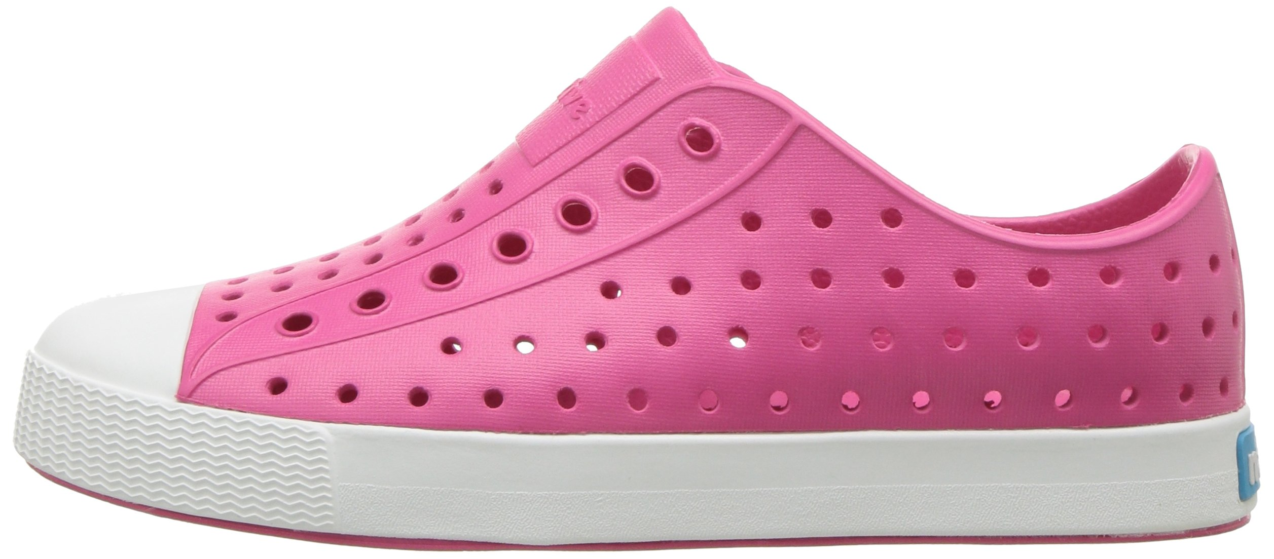 Native Kids Girls Jefferson Junior Water Proof Shoes, Hollywood Pink/Shell White, 6 Medium US Big Kid by Native Shoes (Image #5)