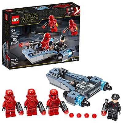 LEGO Star Wars Sith Troopers Battle Pack 75266 Stormtrooper Speeder Vehicle Building Kit, New 2020 (105 Pieces): Toys & Games