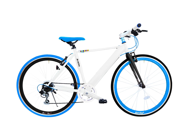 Airbike クロスバイク 700C 自転車 シマノ7段変速 B075QZJSXC ブルー ブルー