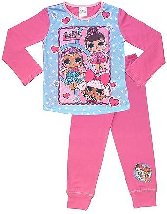 design senza tempo d3b29 7b6be LOL Surprise ! Pigiama per Bambine in Cotone Morbido Lil Sisters Bambole  Set da Pigiama