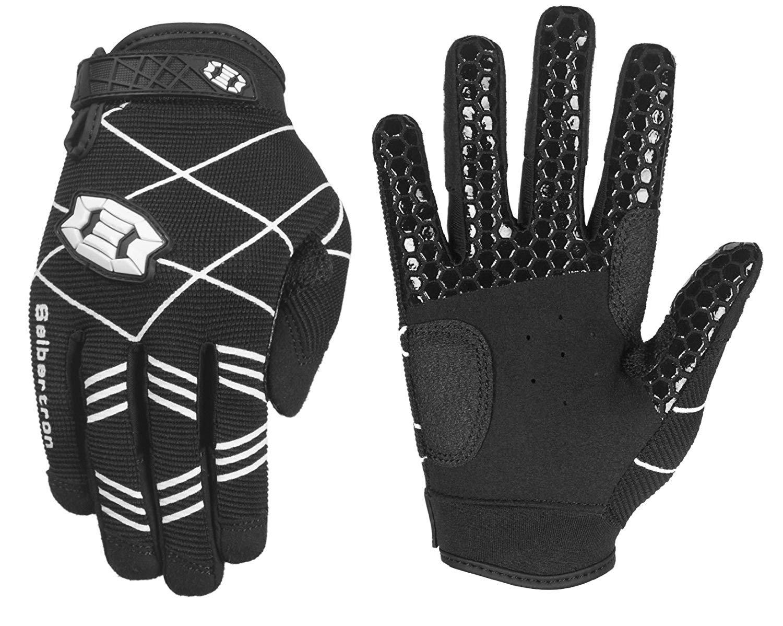 Seibertron B-A-R PRO 2.0 Signature Baseball/Softball Batting Gloves Super Grip Finger Fit for Youth Black XS