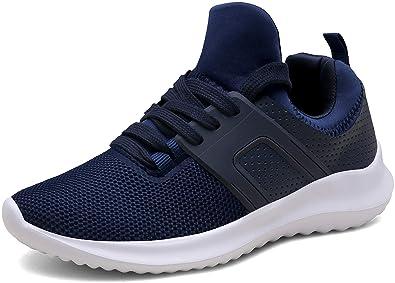 71467f1c2f Vedaxin Turnschuhe Fitness Laufschuhe Leichte Schnürer Gym Freizeit  Sportschuhe für Herren Damen,XZ646A-blue