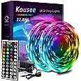 LED Strip Lights 300LEDs SMD5050 Non-Waterproof RGB Strip Lights Full Kit, LED Rope Lights Color Changing Flexible Tape Light