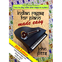 Indian Rāgas for Piano Made Easy book cover