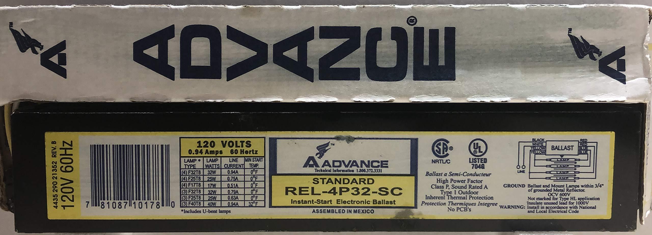 Advance Transformer REL-4P32-SC Ballast