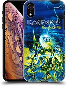 Head Case Designs Officially Licensed Iron Maiden Live After Death Tours Hard Back Case Compatible with Apple iPhone XR