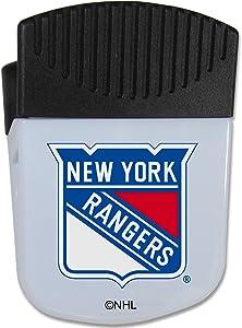 NHL Siskiyou Sports Fan Shop New York Rangers Chip Clip Magnet with Bottle Opener Single Team Color