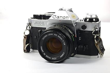 Amazon Canon Ae 1 Program 35mm Manual Focus Film Camera Lens