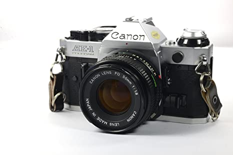 Review Canon AE-1 Program 35mm
