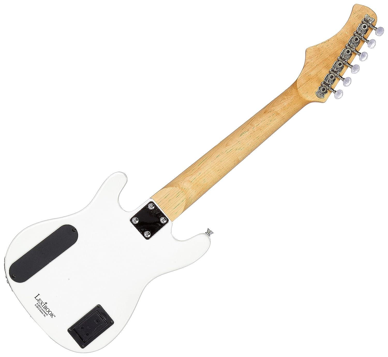 LEXIBOOK Guitarra Eléctrica con Altavoces (K2500L): Amazon.es: Juguetes y juegos