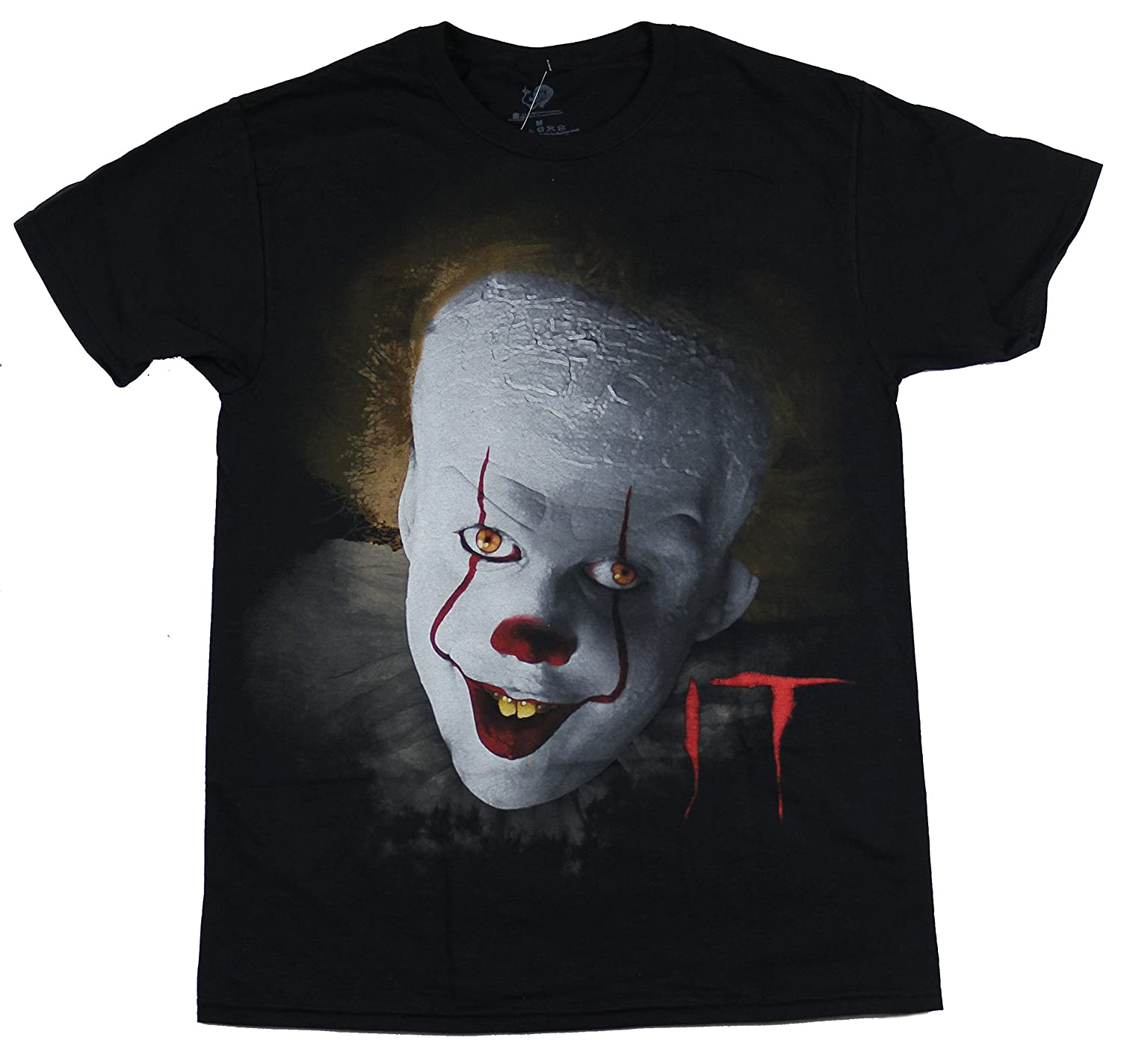 Changes It Pennywise Illustrated Face Graphic T-Shirt