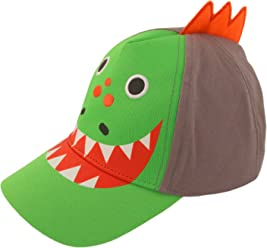9b5ce3dff057d ABG Accessories Toddler Boys Cotton Baseball Cap with Assorted Animal  Critter Designs