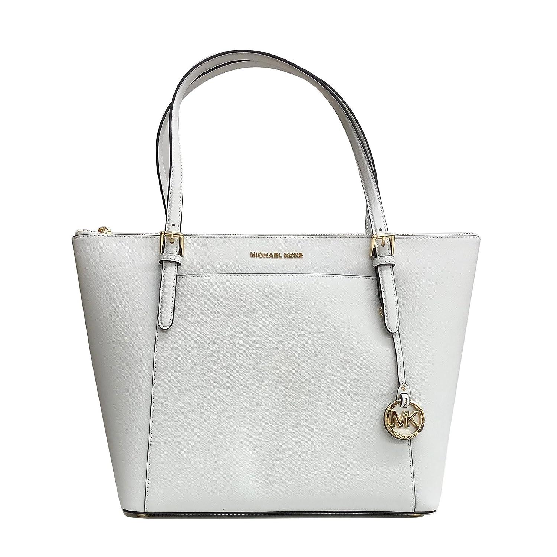 48929dd737e4c8 ... inexpensive amazon michael kors ciara lg tote bag leather white  35t8gc6t9l clothing 9db37 dd254