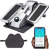 Cubii Pro Seated Elliptical + Cushii Lateral Lumbar Support Cushion, Bluetooth Under Desk Pedal Bike, Whisper Quiet Compact E