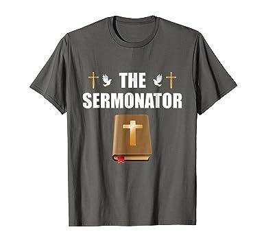 Amazon.com: Predicador Pastor Sacerdote T Camisa Regalo La ...