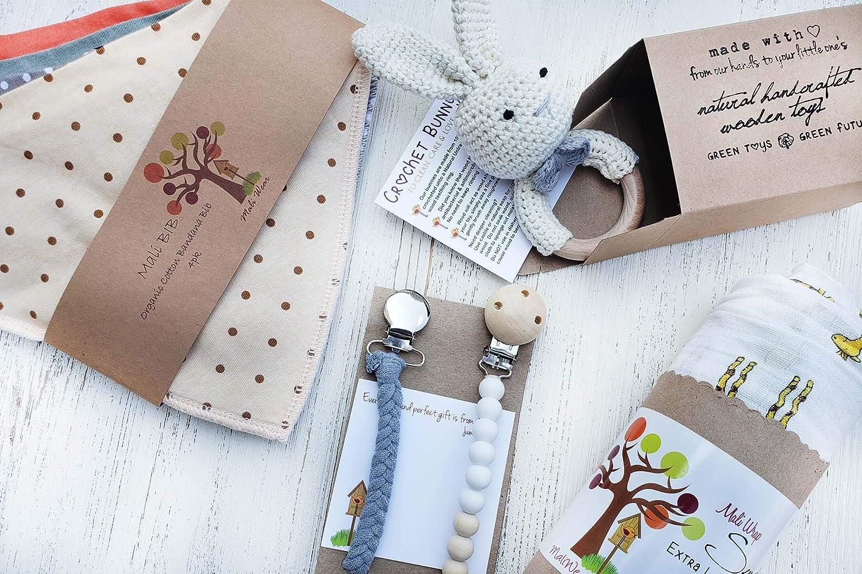 Amazon.com: Juego de regalo para recién nacido, manta para ...
