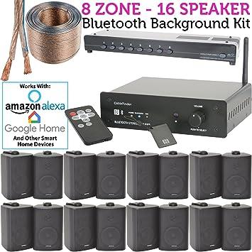 Smart-Home-8-Bluetooth-Lautsprecher-Set – 16 x: Amazon.de: Elektronik