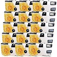 FV-Sonderleistung Pure Passion Lot de 15 appareils photo jetables avec flash 400 ASA 27 vues