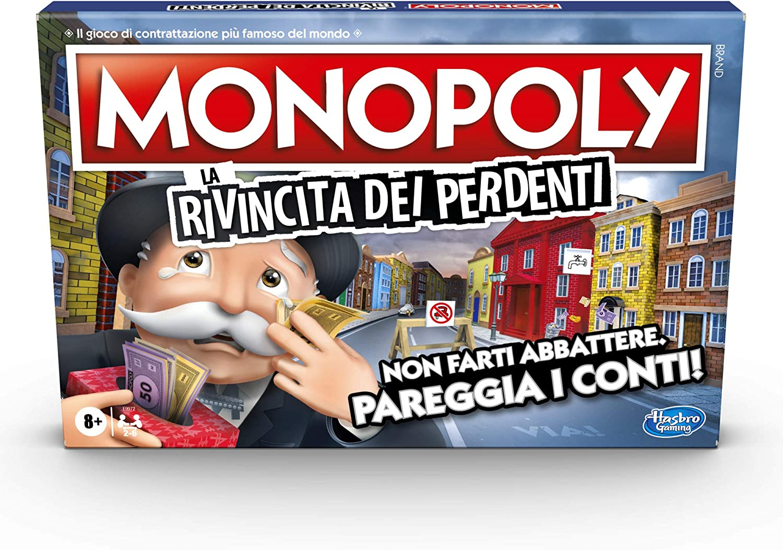 Monopoly - La rivincita de los perdientes (Juego en Caja, Hasbro Gaming): Amazon.es: Juguetes y juegos