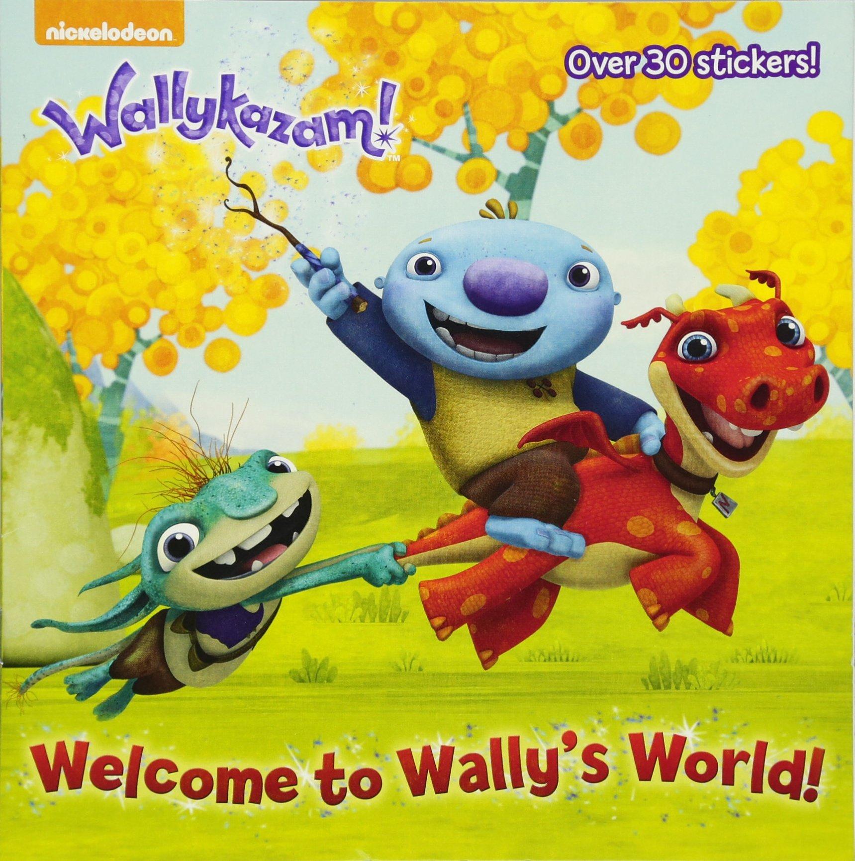 amazon com welcome to wally u0027s world wallykazam pictureback r