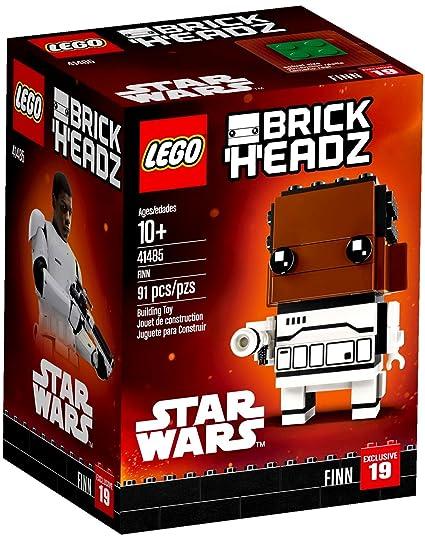 Amazoncom Lego Brickheadz Finn 41485 Star Wars Building Set Toys
