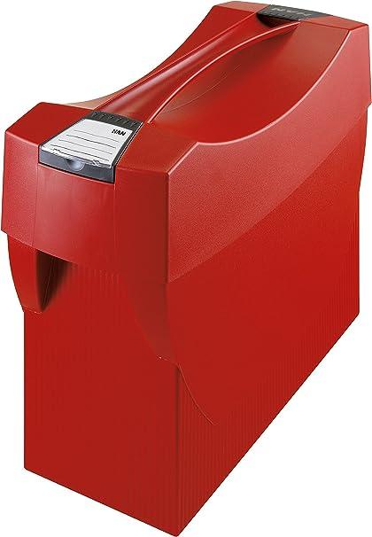 397 x 347 x 154 mm rosso con spazio per cancelleria Han Contenitore per cartelle sospese Swing Plus