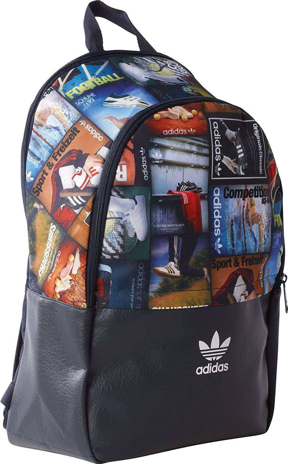 Adidas 3 Pocket Hombre Backpack Negro
