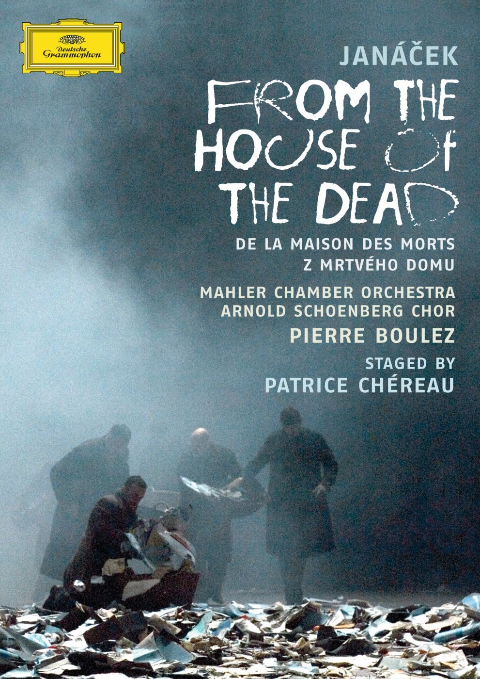 DVD : Pierre Boulez - From The House Of The Dead (DVD)