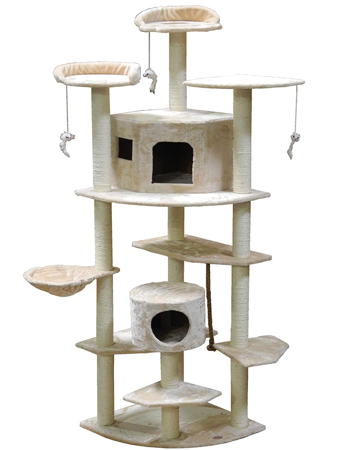amazoncom  go pet club cat tree inch beige  cat climbing  - amazoncom  go pet club cat tree inch beige  cat climbing tower pet supplies
