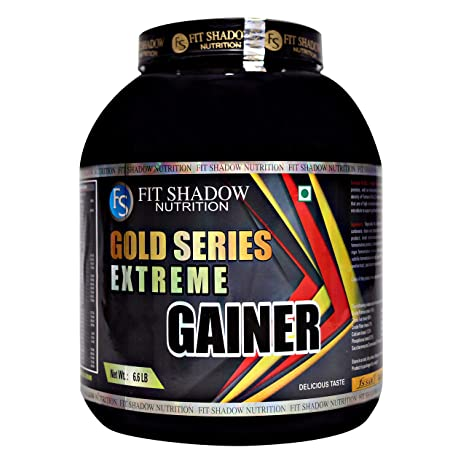 Fit Shadow Extream Weight Gainer Mass Gainer With High Protein Supplement Powder 3kg 6 6lbs Sugar Free Best Weight Gainer For Men Boys Womens Beginners Low Fat Low Carb Vanilla Amazon In Health Personal