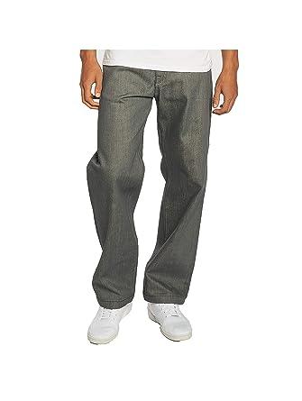 a97185ee Pelle Pelle Men Jeans/Baggy Baxter Grey W 30 L 30: Amazon.co.uk: Clothing