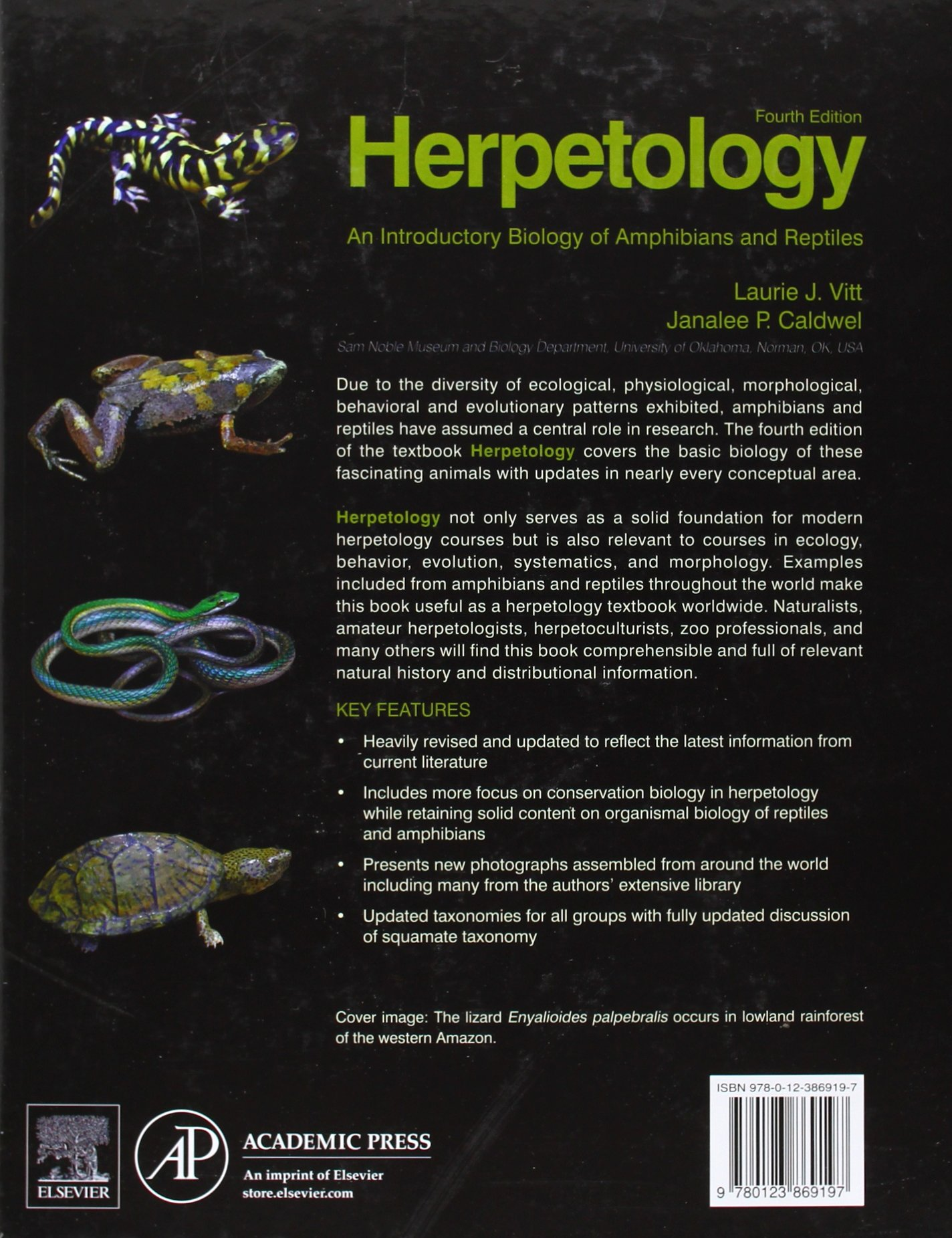 Herpetology: An Introductory Biology of Amphibians and Reptiles