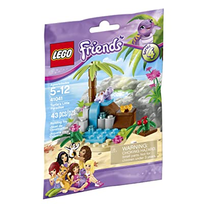 Lego Friends Turtle's Little Paradise 41041 Building Kit: Toys & Games