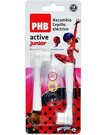 PHB Active Junior Recambio Cepillo de Dientes Eléctrico Infantil con  Filamentos de Tynex 56fce138ae52